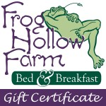 Frog Hollow Farm Gift Certificate