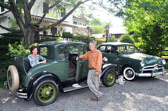 Patti & Mitch w/1931 Ford