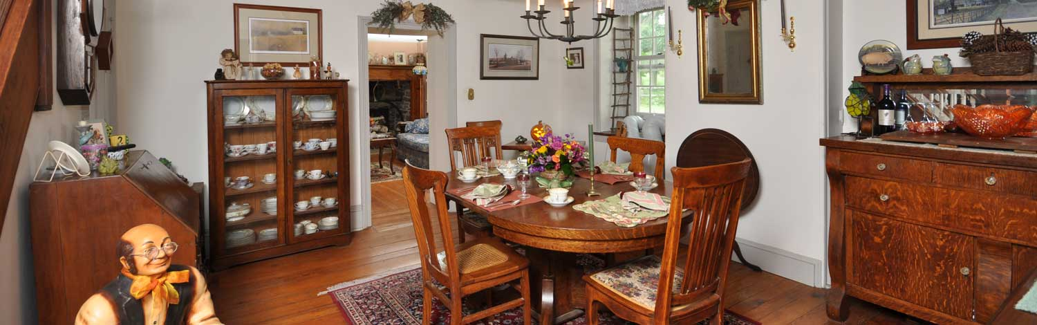 Frog Hollow Farm B&B Dining Room