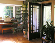Sunroom door